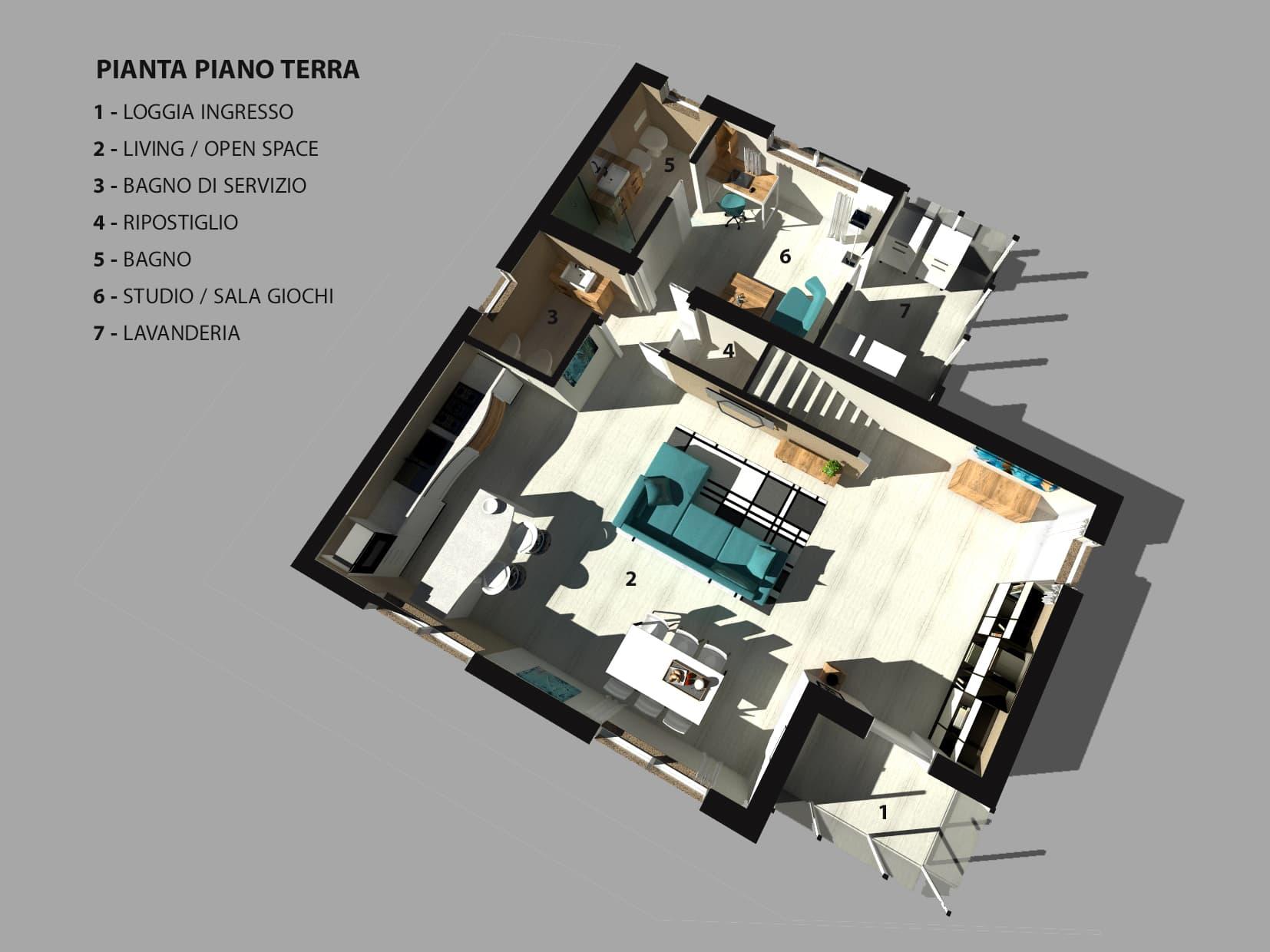 casa in vendita a Montegrotto Terme